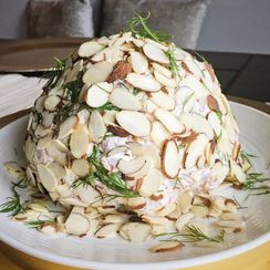 Chipped Beef Cheese Ball with Dill