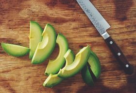 The Neatest Avocado Slices You Will Ever Make