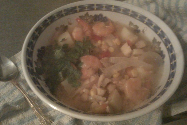 Quick Peruvian Seafood Soup