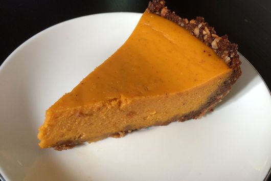 Easy cardamom butternut squash pie