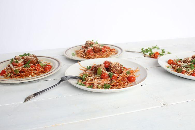 Fresh City Classic Spaghetti & Meatballs
