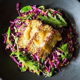 All About Tempeh (plus a Mizuna Salad with Miso)