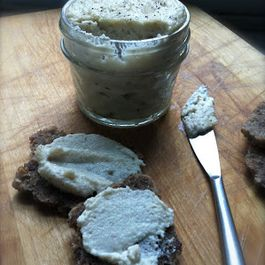 "Raw Vegan Pine Nut ""Goat Cheese"""