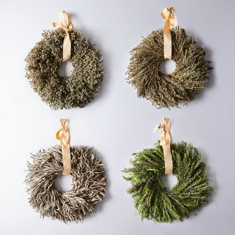 Cooking Dried Herb Wreath Subscription