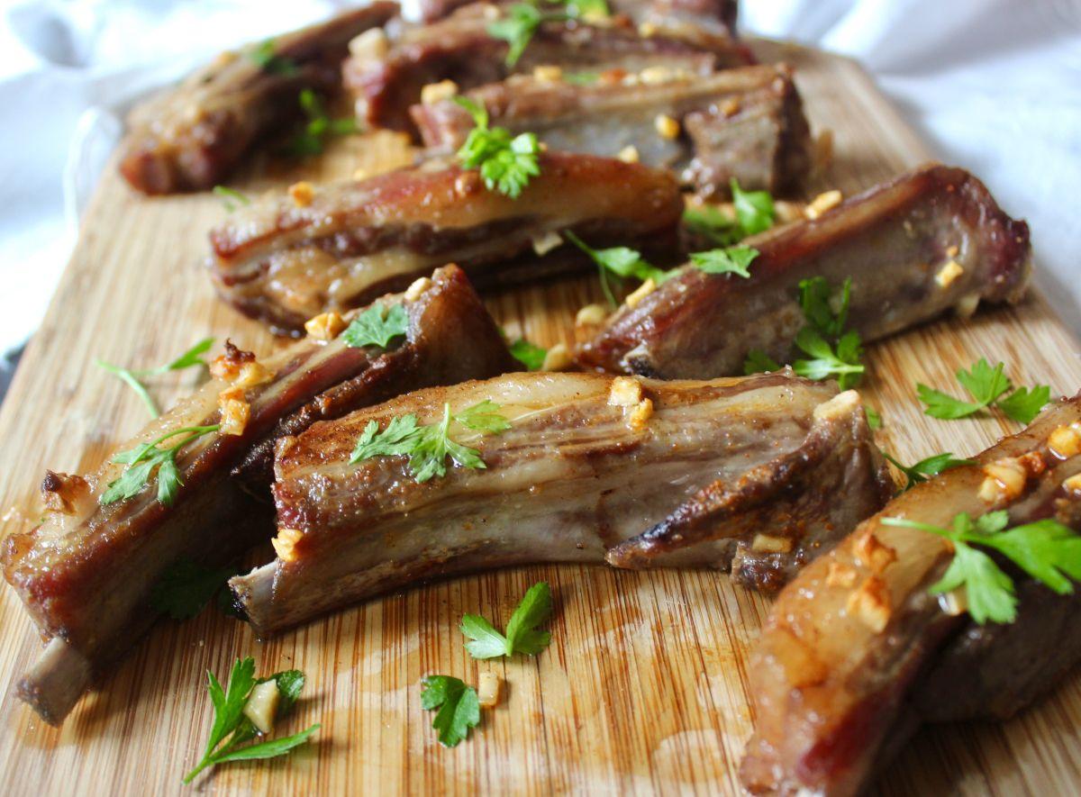 Garlic Lamb Riblets Recipe On Food52