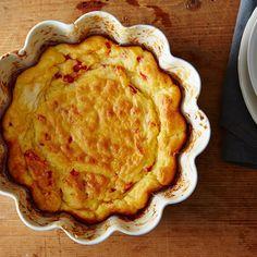 Pimento Cheese Soufflé
