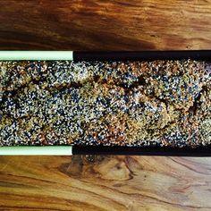 Black Sesame Buckwheat Banana Bread