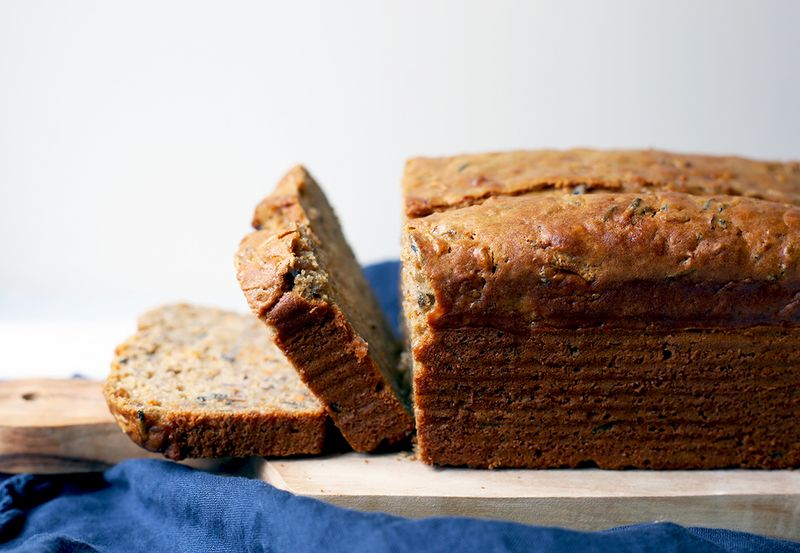 Banana or wild rice and carrot bread? Hint: It's the latter.