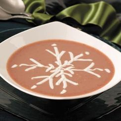 Chilled Plum  Summer Soup