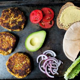 Veggie Burgers and Sandwiches