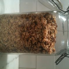 Simple maple pecan granola