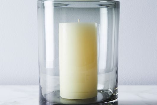 Silo Glass Hurricane & Pillar Candle