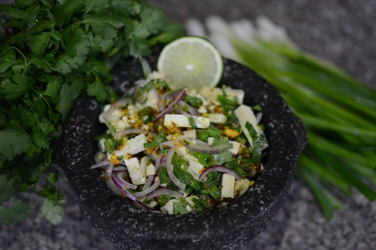 Burmese Tofu Salad