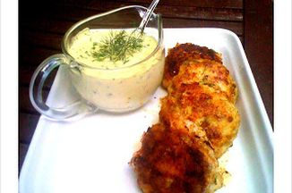 Cod Cakes with Herbed Tartar Sauce Recipe on Food52
