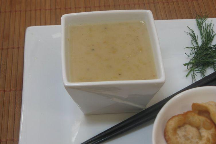 Mung bean dessert soup (paruppu paayasam)