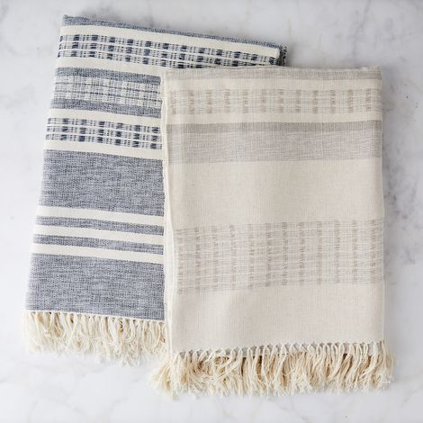 Seaside Cotton Throw