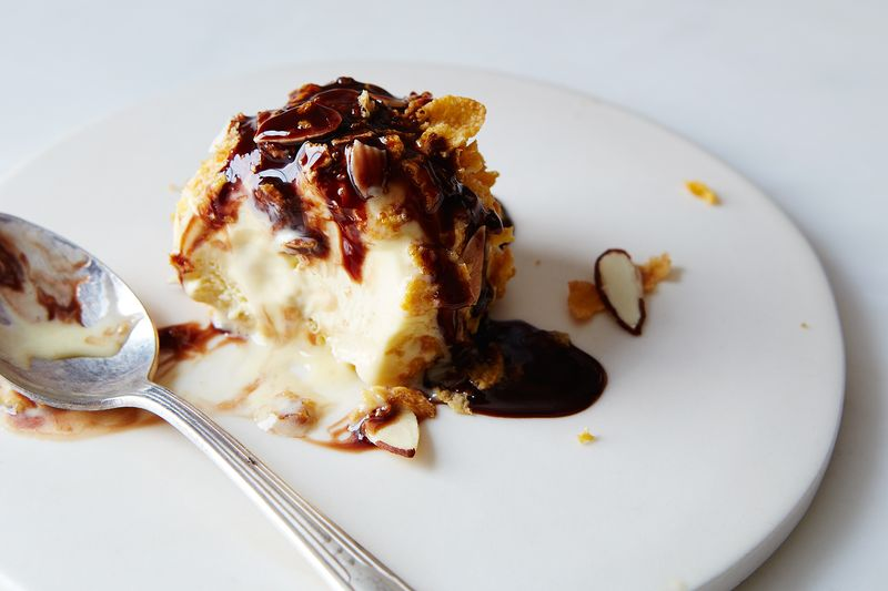 This is not technically fried ice cream. Read on to find out what it really is.