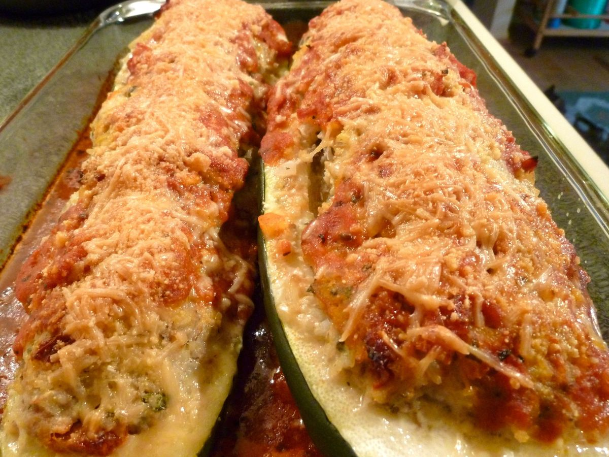 Italian Stuffed Zucchini Recipe On Food52