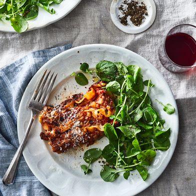 Extra-Crispy Lasagna