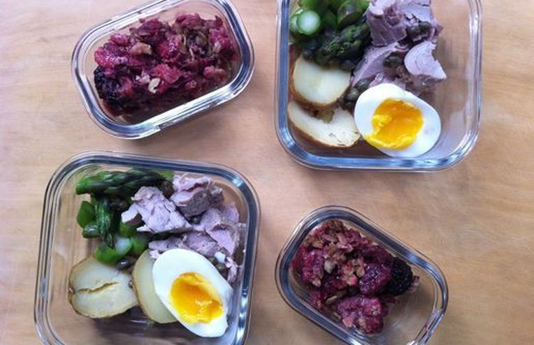 Mix and Match Leftovers, Then Call it Lunch