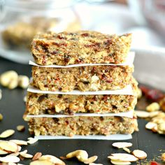 Grain Free Date & Nut Bars