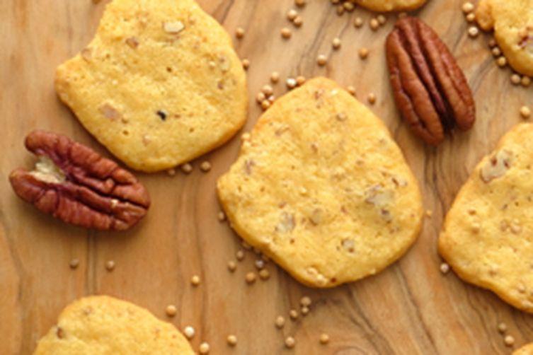 pecan cheddar crackers