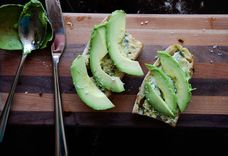 Avocado Toast with Lemon-Basil Aioli