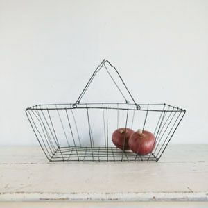 Fog Linen wire basket