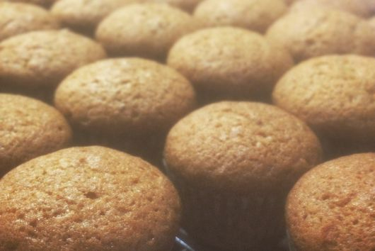 Traditional Pumpkin (mini-) Muffins