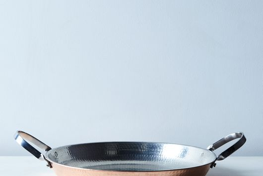 Hammered Copper Paella Pan