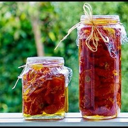 Sun-Dried Tomatoes in the Oven
