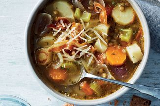 Slow-Cooker Lentil & Root Veggie Soup Recipe on Food52