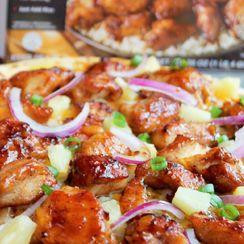 Teriyaki Chicken & Pineapple Pizza