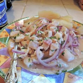 Peruvian Ceviche (Lime-Pickled Fish)