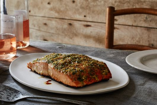 Quick-Smoked Grilled Salmon