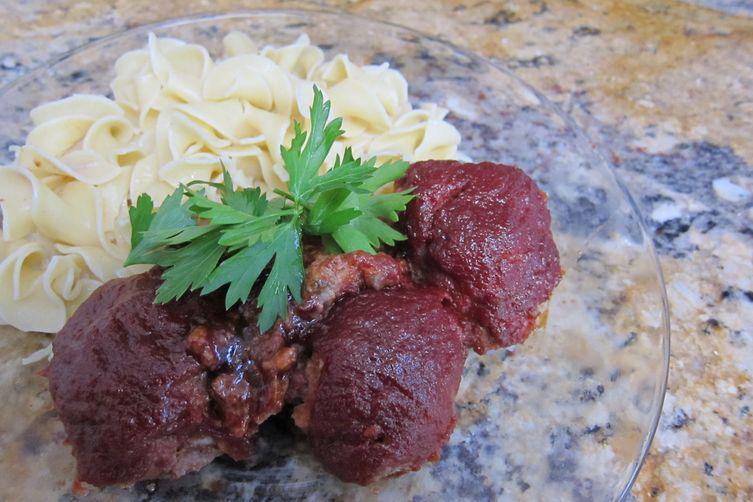 Moo Moo's Baked Meatballs