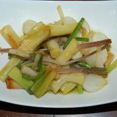 Green Garlic, Ramp and Onion confit