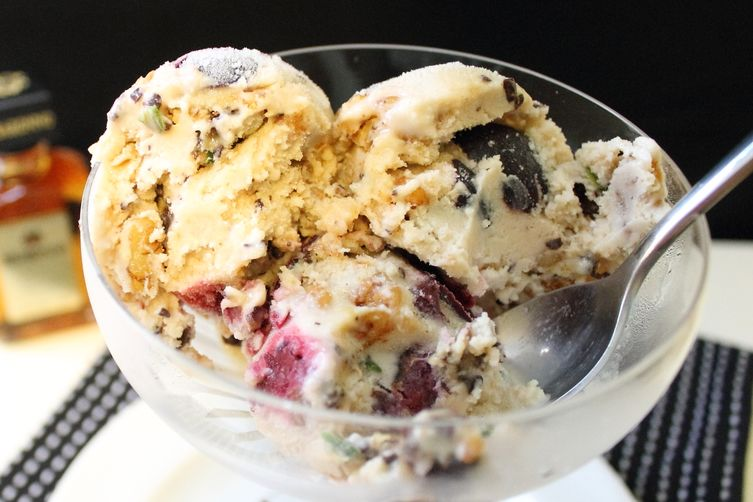 Drunk Cherry Hot Mess Ice Cream