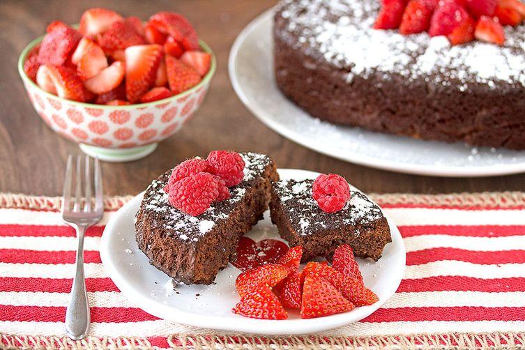 Flourless Dark Chocolate Cake Recipe on Food52