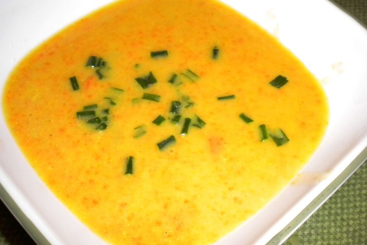 Curried Carrot Ginger Soup
