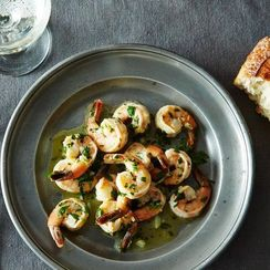 Dinner Tonight: Sautéed Shrimp with Lemon, Garlic & Parsley