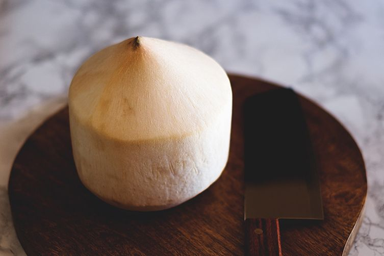 Young thai coconut ceviche