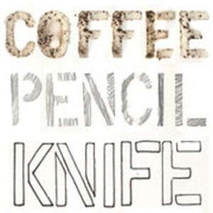 Coffee Pencil Knife