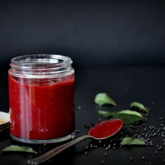 Sweet & Spicy Beetroot Chutney