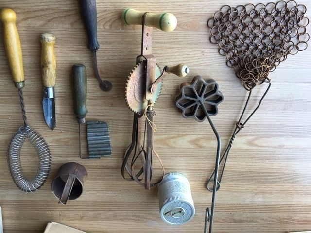 Help Us Identify These Antique Kitchen Tools