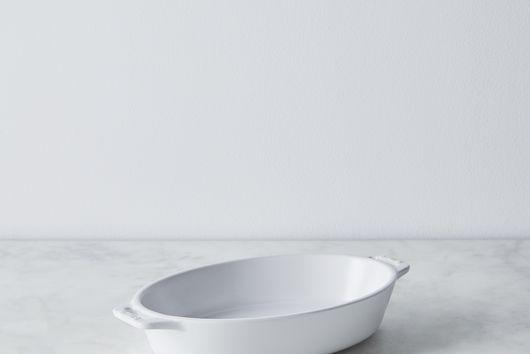 Staub Matte Ceramic Oval Baking Dish