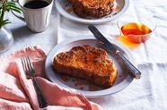 Crispy-Fried French Toast with Hot Sauce Honey