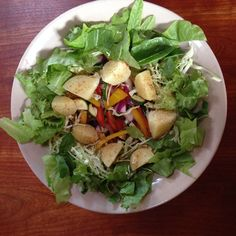 Farmers Market Salad with many options