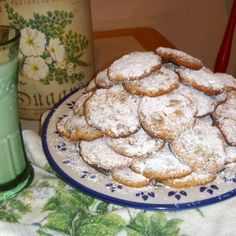 Gooey Chewy Butter Almond Cookies