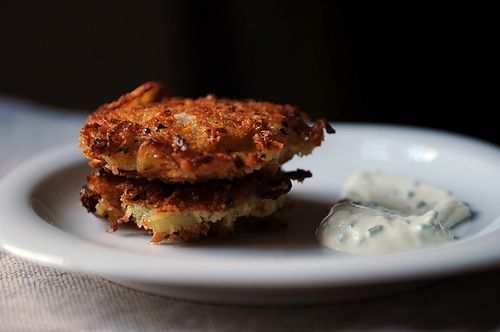 Golden Panko Latkes